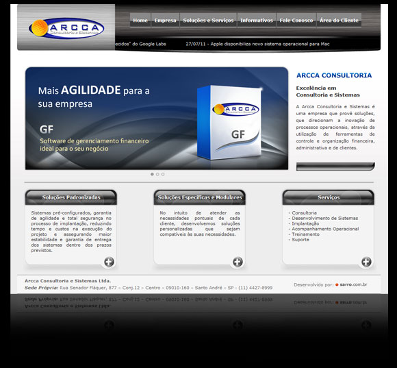 Website ARcca