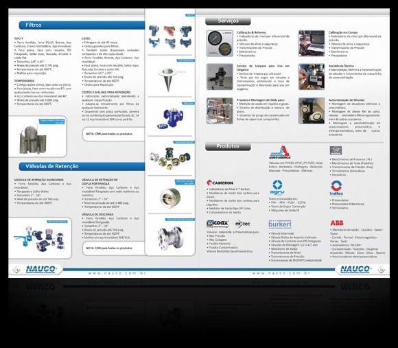 Catálogo de produtos Nauco