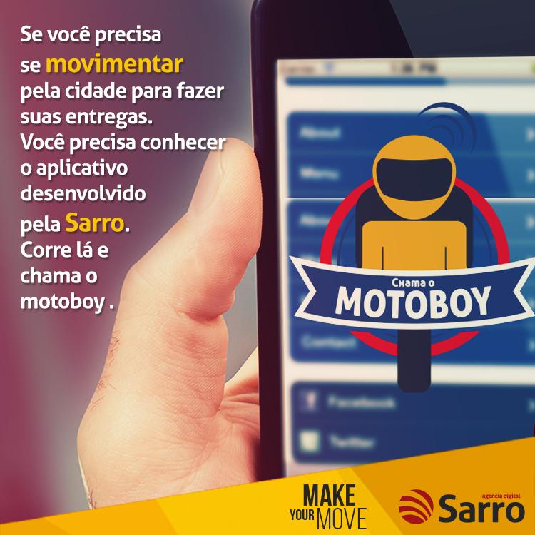 CASE: Chama o Motoboy - Sistema WEB e Aplicativo