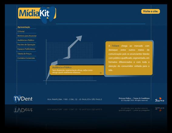 Mídia Kit - TVDENT