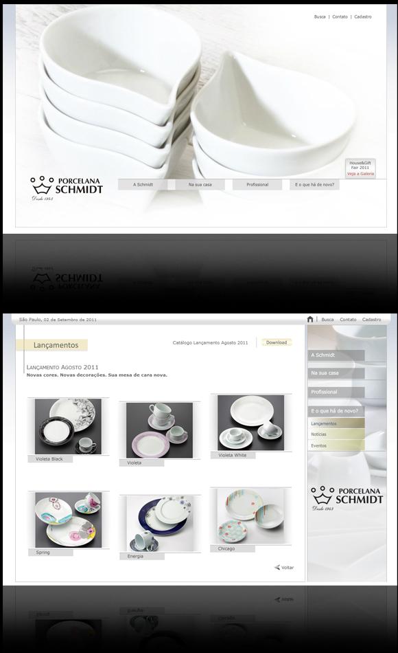 Site Porcelana Schmidt